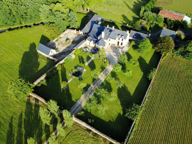 Jugon les Lacs-Magnificent Manor with its outbuildings and its wall.  for sale for 1,144,000€ in Côtes-d'Armor, Brittany