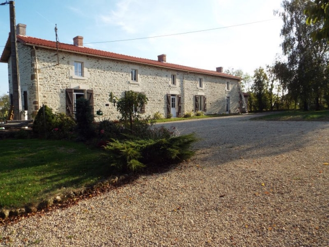Extensive gite complex, enormous barn/entertainment area, pools & gardens for sale for 728,000€ in Vendée, Pays-de-la-Loire